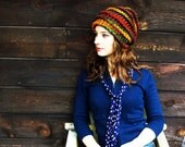Autumn Accordion Knitted Slouch (Made to Order)