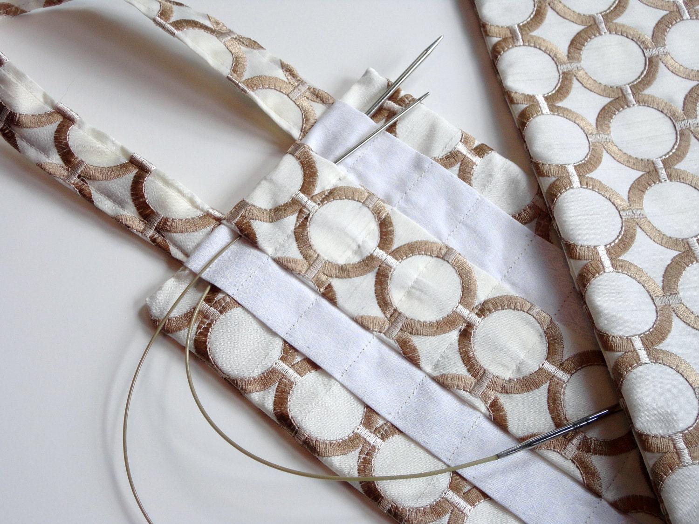 Circular Knitting Needle Storage Organizers : Hanging circular knitting needle organizer