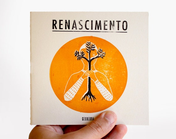 Renascimento - illustrated color book - limited edition of 30