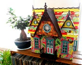 """The Shabby Chic Victorian House of LARK 1"""" Scale - Girls Room Decor-Toy"""