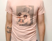 AMERICAN FAMILY PHOTO t-shirt 80s sears cowboy made in usa