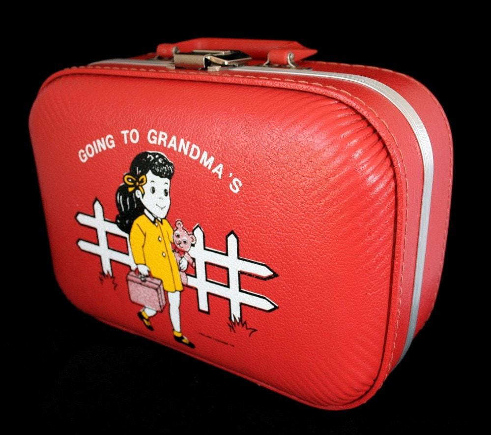 Going To Grandma S Suitcase