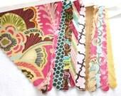 Fabric Bunting - Paisley Medley