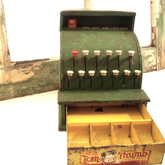 Tom thumb vintage cash register