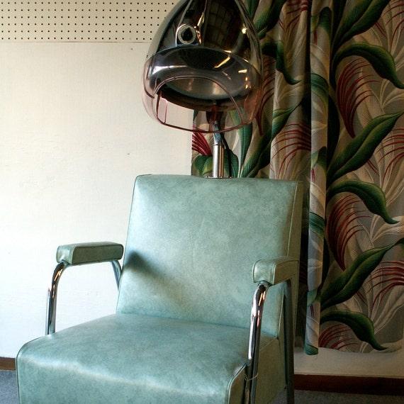 Vintage salon hair dryer chair - Salon chair with hair dryer ...