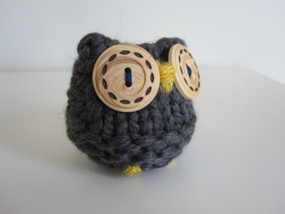 Wooly Owl Paper Weight- gift for man