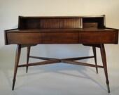 RESERVE-JD-Restored Danish Modern Desk from Hooker (Los Angeles)