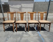 SALE-Set of 4 Danish Modern Dining Chairs (Los Angeles)
