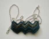 embroidered necklace no. 3