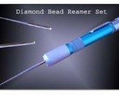 1 set of 3 Diamond Coated Bead Reamers