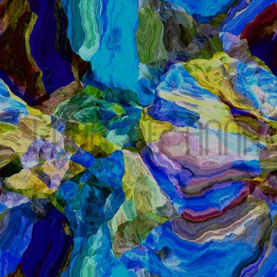 Black Opal   - Graphic Print A3
