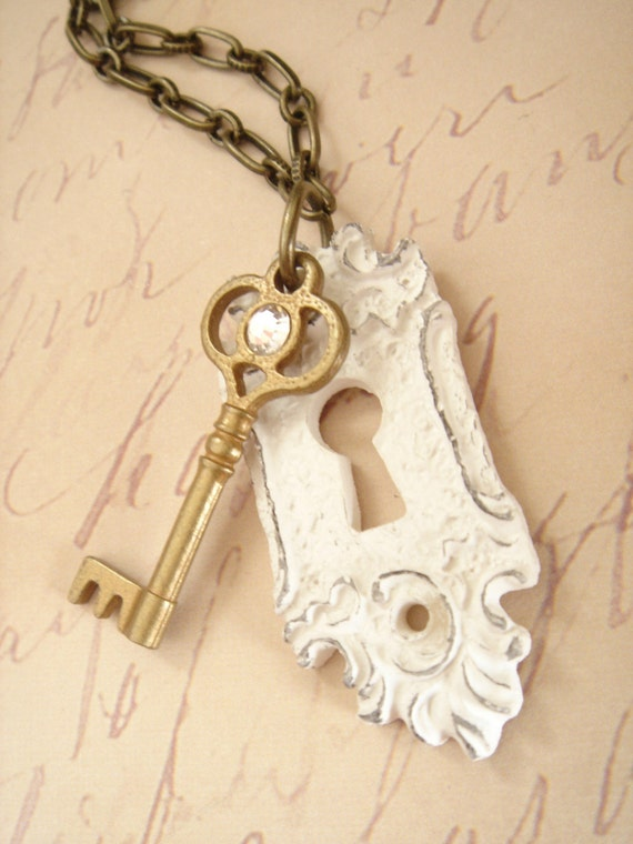 RESERVED SALE Behind Closed Doors Necklace
