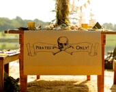 PRINTABLE Pirates Only Sign for Pirate Party - Jennifer Carroll Designs