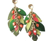 Jungle leaves I earrings