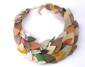 Thousand leaves choker necklace- customizable