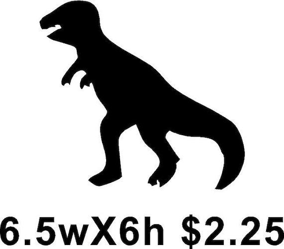 T-Rex Dinosaur Silhoue...
