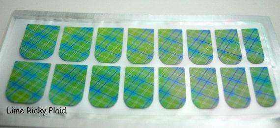 Nail foil nail wrap set