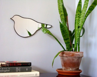 Bird Mirror No. 4 Handmade Wall Mirror Shape Outline Wall Art Oiseau Miroir Vogel Spiegel Specchio
