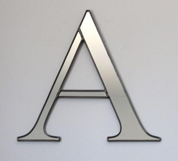 Reserved For Dorian / / / Custom Letter Wall Mirror