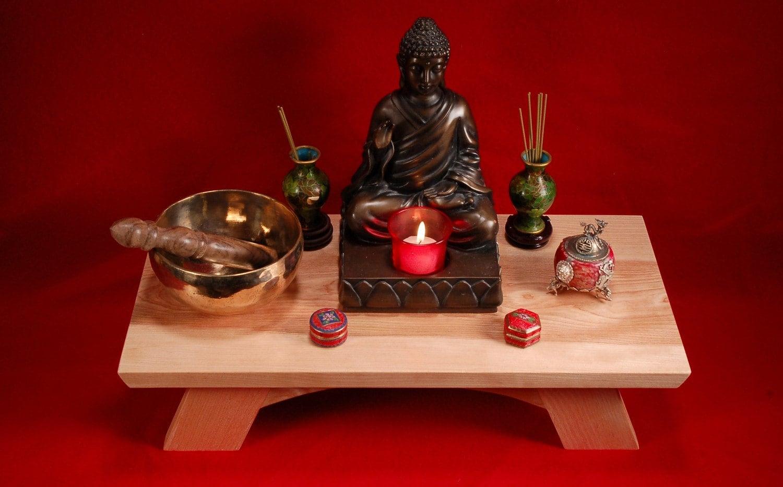 Buddhist Shrine Altar