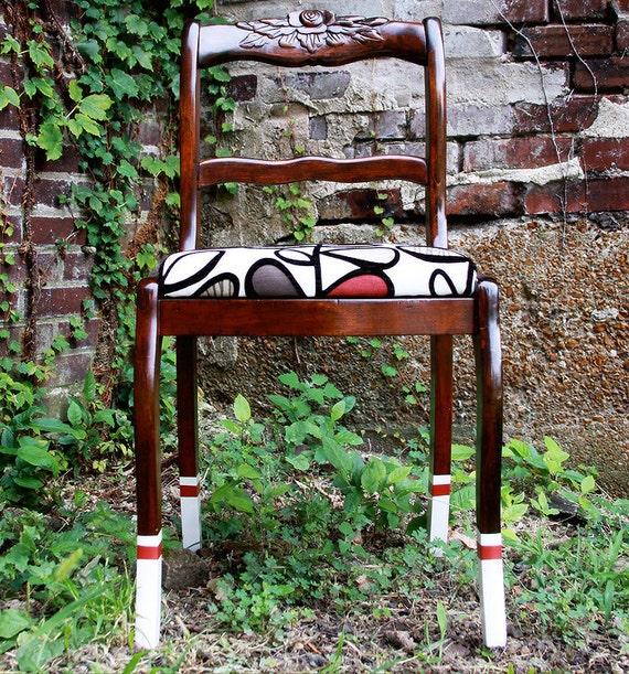 Upcycled Side Chair, The Knee High