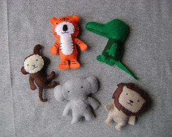 Jungle Animal Stuffed Toys