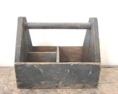 Vintage Tool Box/Tote/Carrier Nice Weight and Made Well TREASURY ITEM