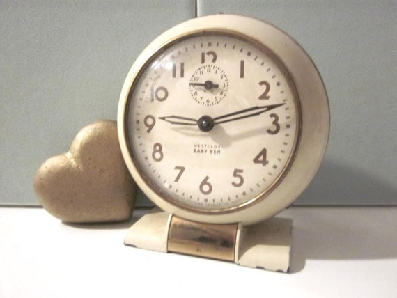 Baby Ben Clock Wind Up Westclox Alarm By Thecozycorner On Etsy