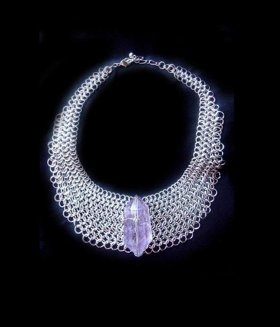 Crystal Amethyst Necklace