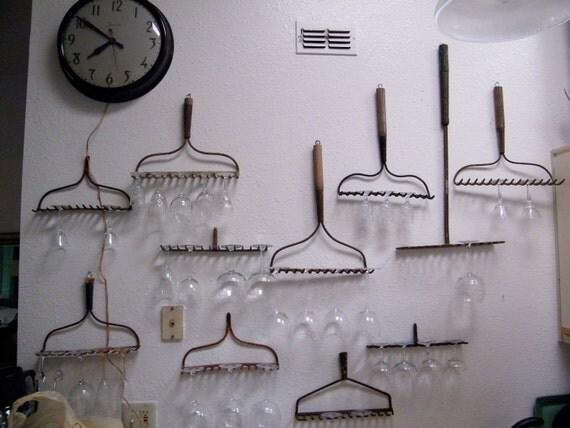 Rake Head / Wine Glass Rack