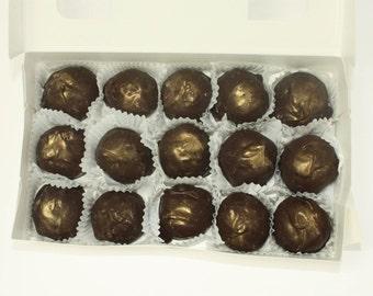 Dark Chocolate Champagne Truffles - 15 Truffles - Approx. 1 lb
