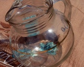 Vintage Glass Ball Pitcher