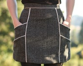 Chalk Lines Skirt - Custom Fit