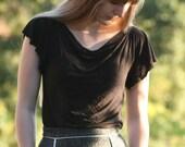 Draped t-shirt - Custom Fit