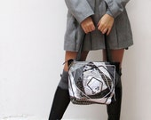 OOAK Quilted Bag MONOCHROME