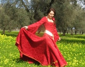 Medieval Style Dress Made To Order  OOAK
