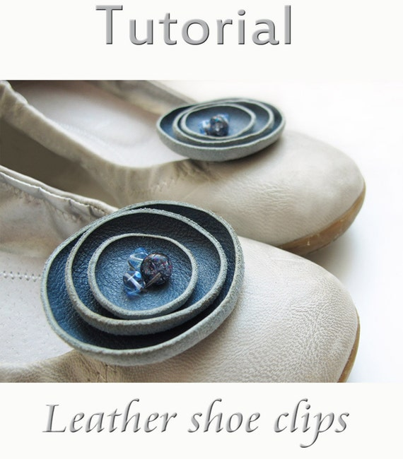 Tutorial Leather shoe clips  PDF