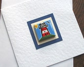 Lighthouse Card, Birthday Card, Greeting Card, Blank Card, Magnet Card, Nautical Card, Maritime, Seaside Card