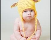 Custom Giraffe Hat for baby or child great photo prop or Halloween costume