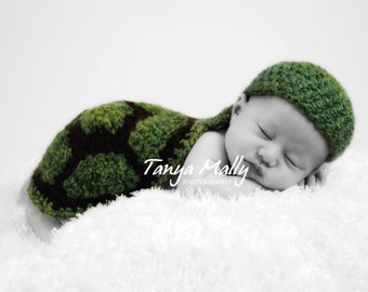 Turtle Newborn Cape Prop