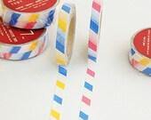 Paris n Stockholm French Stripe Masking Tape Set 7 mm (2 EA)