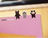 Black Zoo Index Sticker Set (2 sheets)