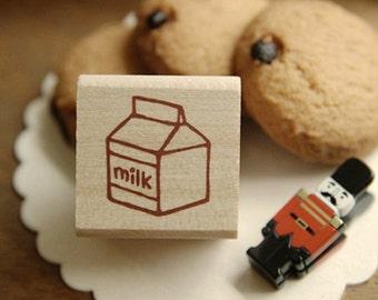 Milk Pack Stamp (1.2 x 1.2in)