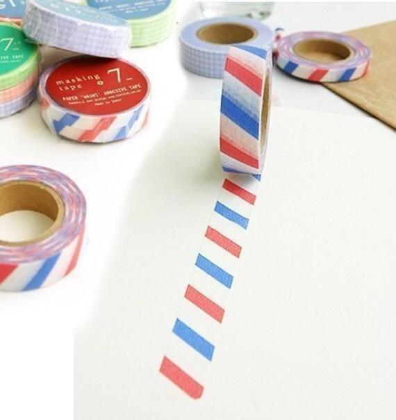 Paris french stripe masking tape 15mm - Boutique masking tape paris ...