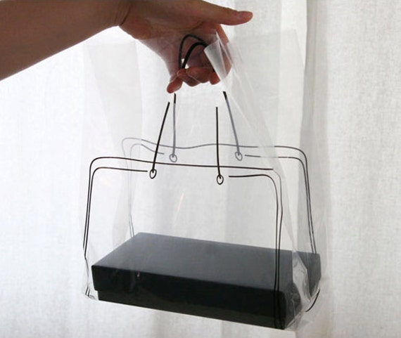 Bag Design Illust Transparent Bags (20 bags)