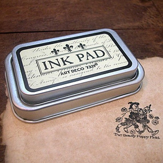 Oil Based Ink Pad - BLACK