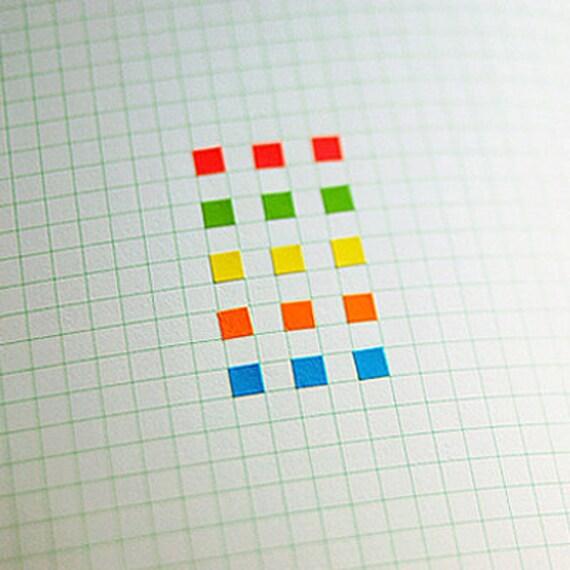 Mini Square Stickers (5 sheets)
