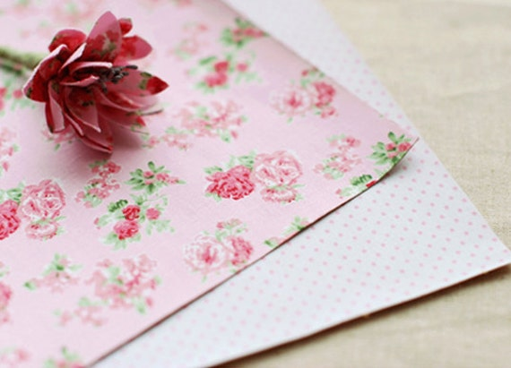 2 SET - Froral Pink Reform Fabric Stickers set (different designs)