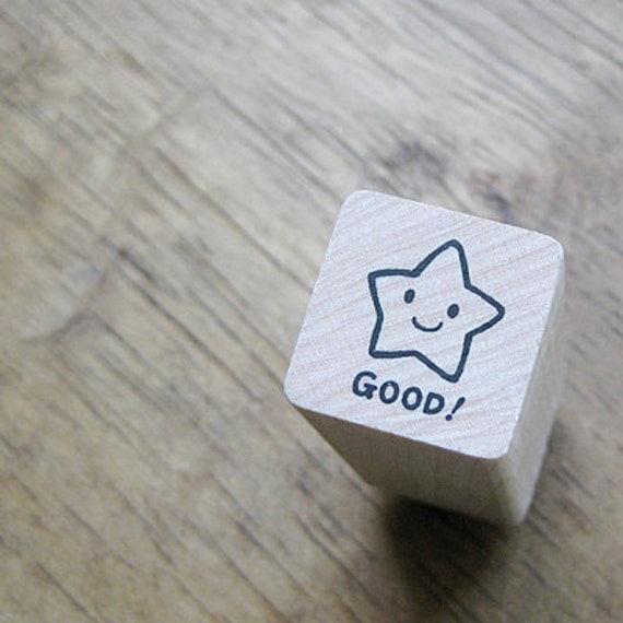 Smile Star Good Stamp