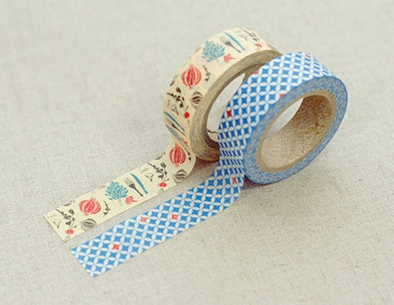 2 SET - Lucy Adhesive Masking Tapes 0.6 inch